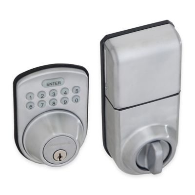 Honeywell 8.75-Inch Digital Door Lock and Deadbolt in Satin Chrome