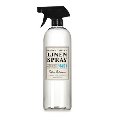 Heirloom Collection 32 oz. Cotton Blossom Linen Spray