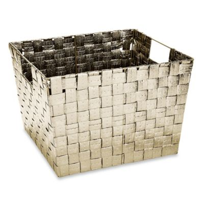 Large Woven Storage Tote Decorative Baskets