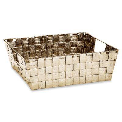 Shelf Woven Storage Tote Decorative Baskets