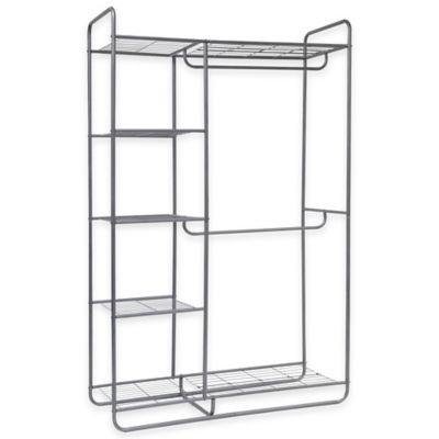 Metal Double Rod Closet