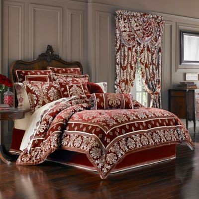 J. Queen New York™ Dynasty California King Comforter Set in Red