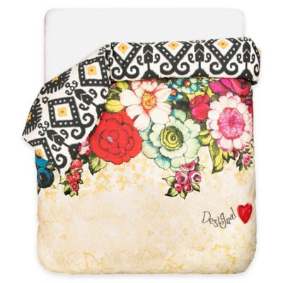 Desigual® Lovely Garden Reversible Twin/Twin XL Duvet Cover