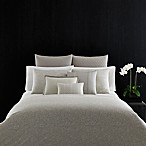 Vera Wang Home Bamboo Leaves Standard Pillow Sham in Grey Putty