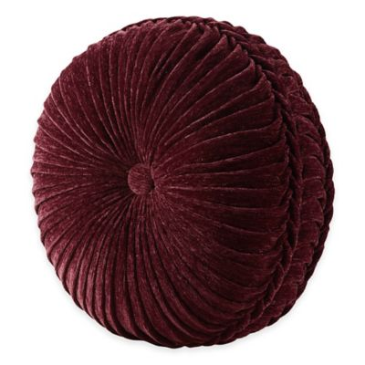 J. Queen New York™ Dynasty Tufted Round Throw Pillow in Red