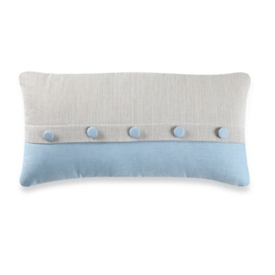 Real Simple® Mikayla Oblong Throw Pillow in Blue/Grey