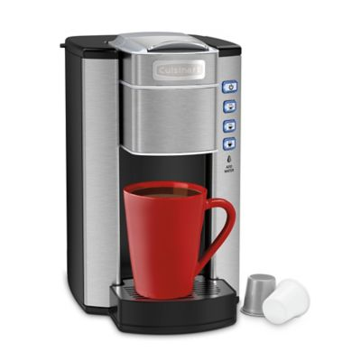 Single Serve Coffee Maker With Large Reservoir : Cuisinart Compact Single Serve Coffee Maker - Bed Bath & Beyond
