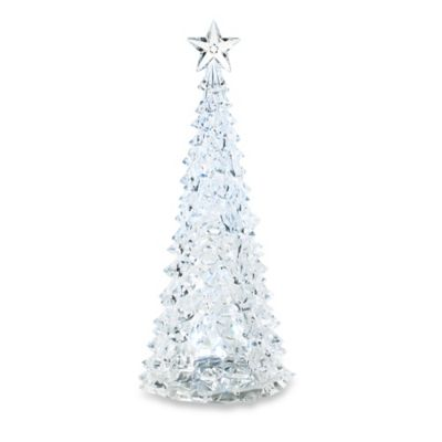 15-Inch LED Lighted Christmas Tree Figurine