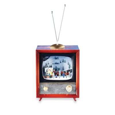 5.5-Inch Musical TV with Rotating Train