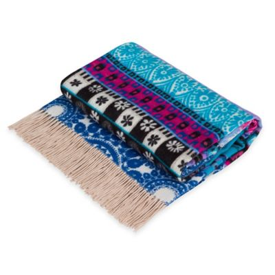 Desigual® Denim Folk Blanket