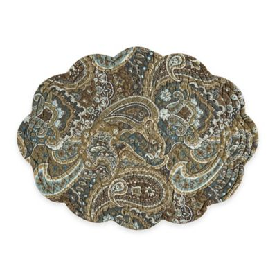 Cassidy Reversible Oval Placemat