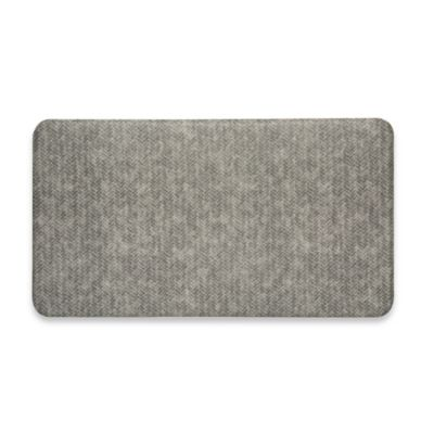 Imprint® Cumulus9™ 20-Inch x 36-Inch Chevron Series Anti-Fatigue Comfort Mat in Light Grey