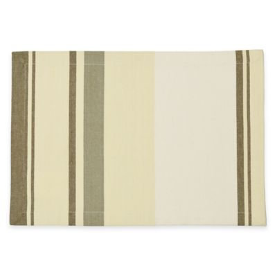 B. Smith Yarn Dyed Awning Stripe Placemat