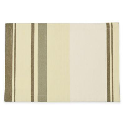 B. Smith Yarn Dyed Awning Stripe Placemat