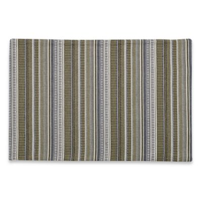 Maison Striped Placemat in Green