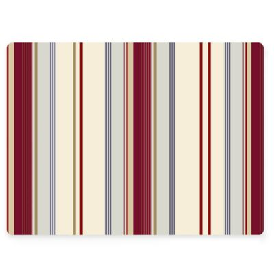 Design House LA Striped Cork Back Placemats (Set of 2)