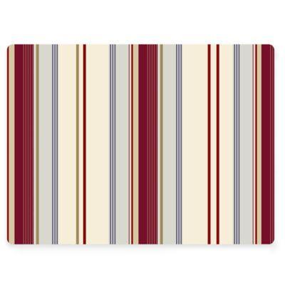 Design House LA Striped Cork Back Placemats (Set of 2)