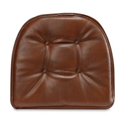 Klear Vu St. Germain Gripper® Chair Paid in Saddle Brown