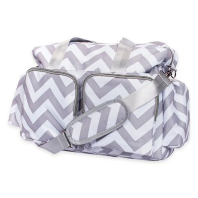 Grey/White Diapering
