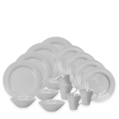 Sophie Conran for Portmeirion® 16-Piece Dinnerware Set in Grey