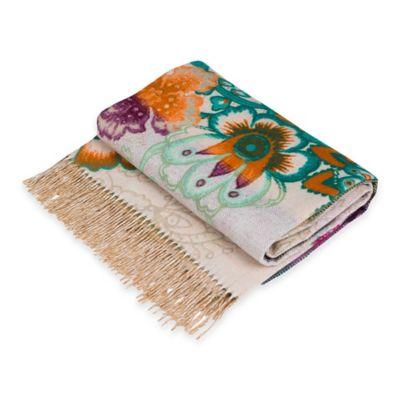 Desigual® Happy Blossom Blanket