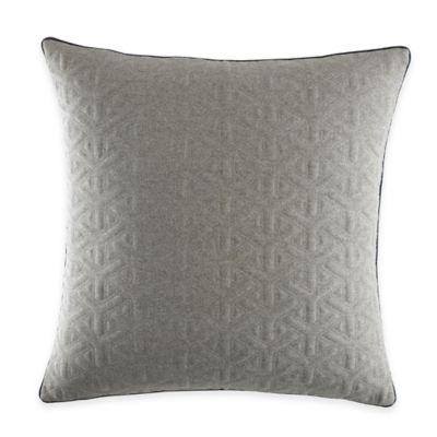 Nautica® Ayer European Pillow Sham in Grey