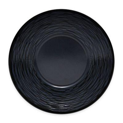 Black Swirl Saucer