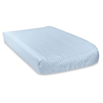 Trend Lab® Blue Taffy Mini-Dot Changing Pad Cover