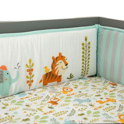 Lambs & Ivy® Dena Happi Jungle 4-Piece Crib Bumper
