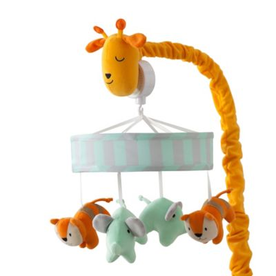 Lambs & Ivy® Dena Happi Jungle Musical Mobile