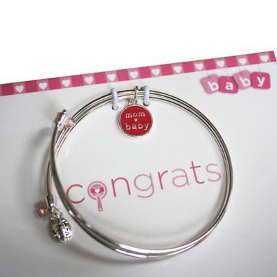 trinky things™ Bangle Bracelet Gift Set in Pink