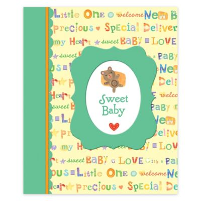 Animal Alphabet 64-Page Baby Keepsake Book