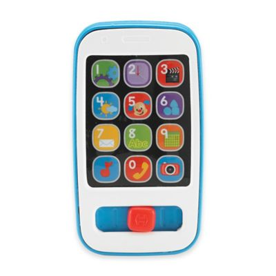 Fisher-Price® Toy Smart Phone in Blue