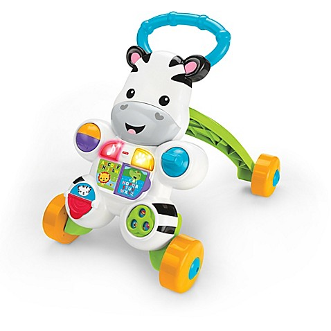 Fisher Price 174 Learn With Me Zebra Walker Buybuy Baby