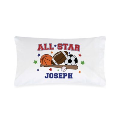 """All Star"" Sports Pillowcase"
