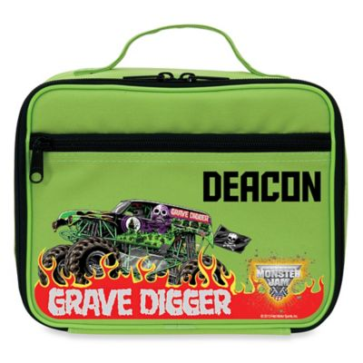 Monster Jam® Grave Digger® Insulated Lunch Box in Green