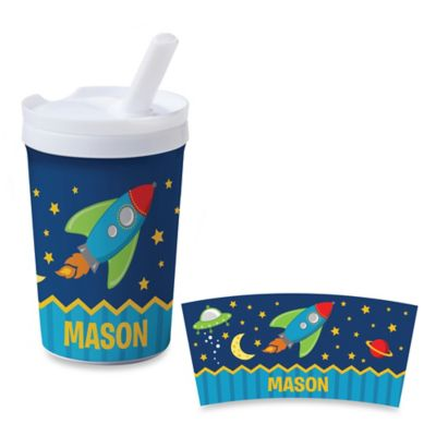 Rocket to Space Sippy Cup