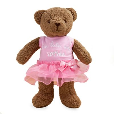 """I'm Tutu Cute "" Sandra Magsamen Plush Teddy Bear Stuffed Animal"