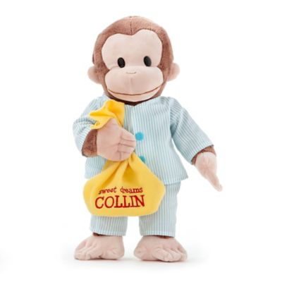 Curious George in Pajamas Plush Stuffed Animal