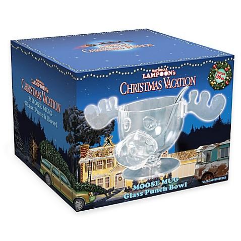 christmas vacation moose punch bowl