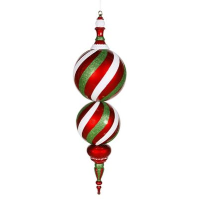 Red/White/Green Ornaments