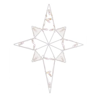 Lighted Christmas Star of Bethlehem