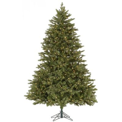 Vickerman 6.5-Foot Balsam Fir Dura-Lit Pre-Lit Christmas Tree with Clear Lights