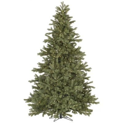 Vickerman 7.5-Foot Frasier Fir Pre-Lit Christmas Tree with Warm White LED Lights