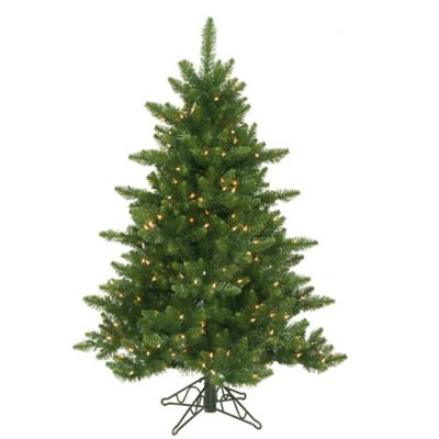 Vickerman 4.5-Foot Camdon Fir Dura-Lit Pre-Lit Christmas Tree with Clear Lights