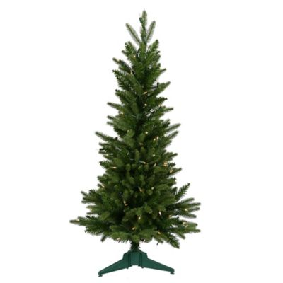 Vickerman 3-Foot Frasier Fir Dura-Lit Pre-Lit Christmas Tree with Warm White LED Lights