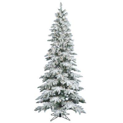 Pre Lit Fir Slim Tree