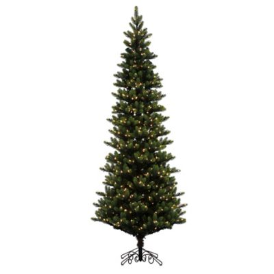 Vickerman 9-Foot Royal Instant Shape Pre-Lit Christmas Tree with Warm White LED Lights