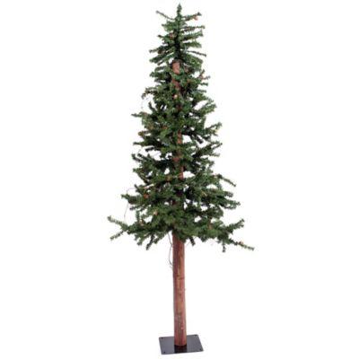 Vickerman 7-Foot Alpine Tree with Pinecones
