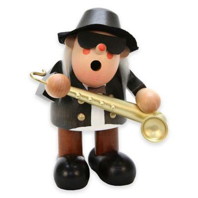 Christian Ulbricht 6.5-Inch Saxophone Player Incense Burner